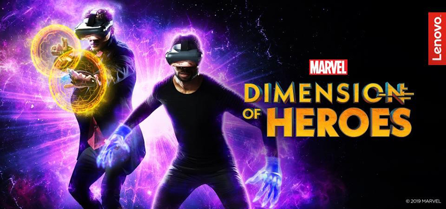 Lenovo Mirage™ AR to Superpower a New Augmented Reality Experience: MARVEL Dimension of Heroes
