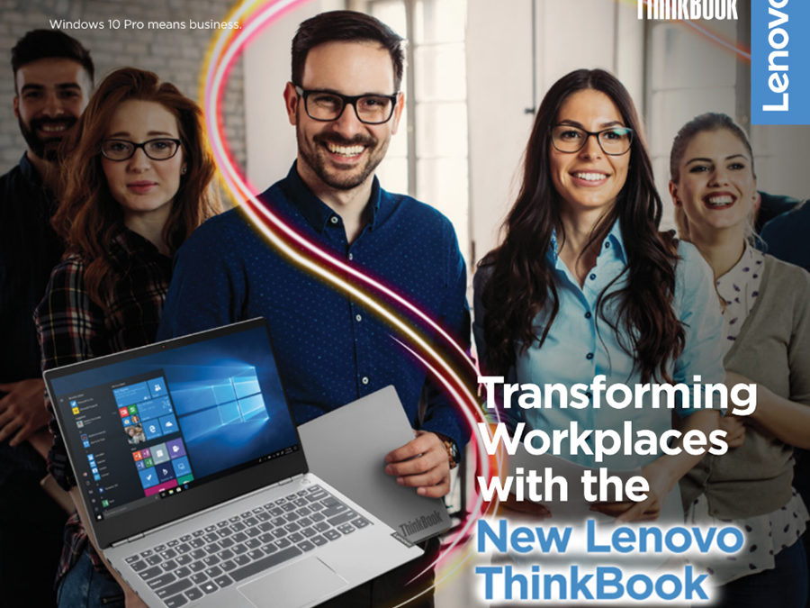 Lenovo releases new ThinkBook for the digitally driven workforce