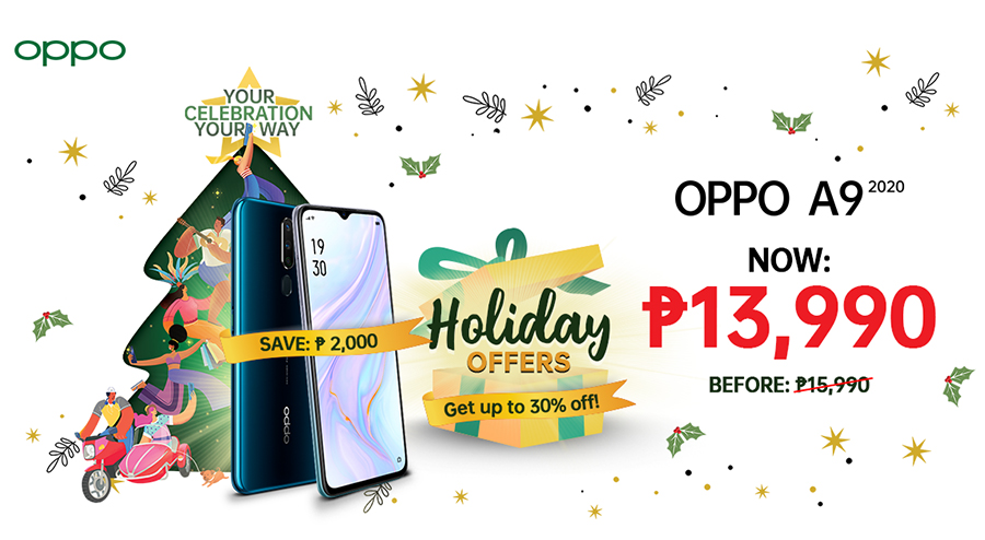PamaskOPPO: Merrier Christmas with OPPO's Biggest Treats  for Everyone this Season