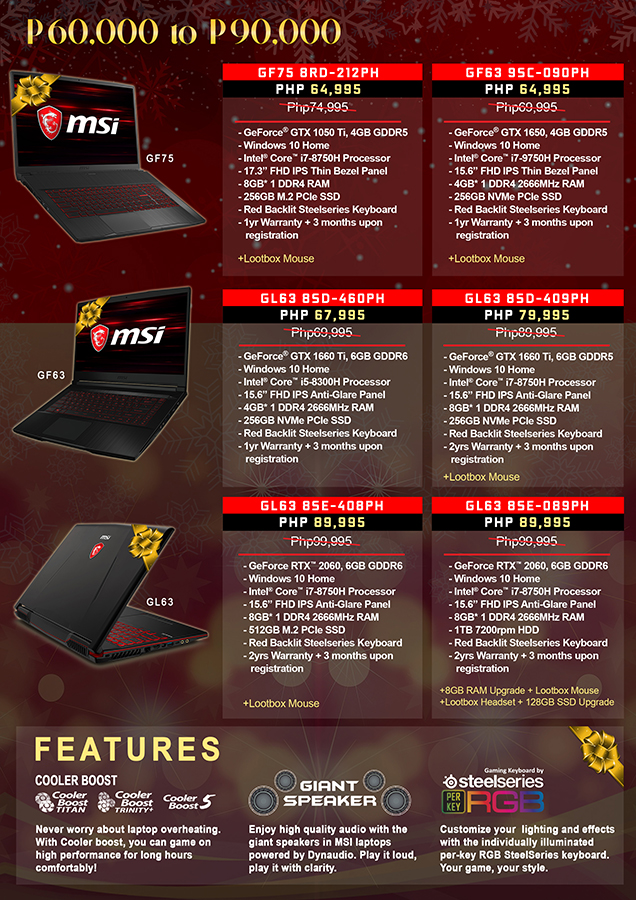 MSI's End of Year Sale is Here