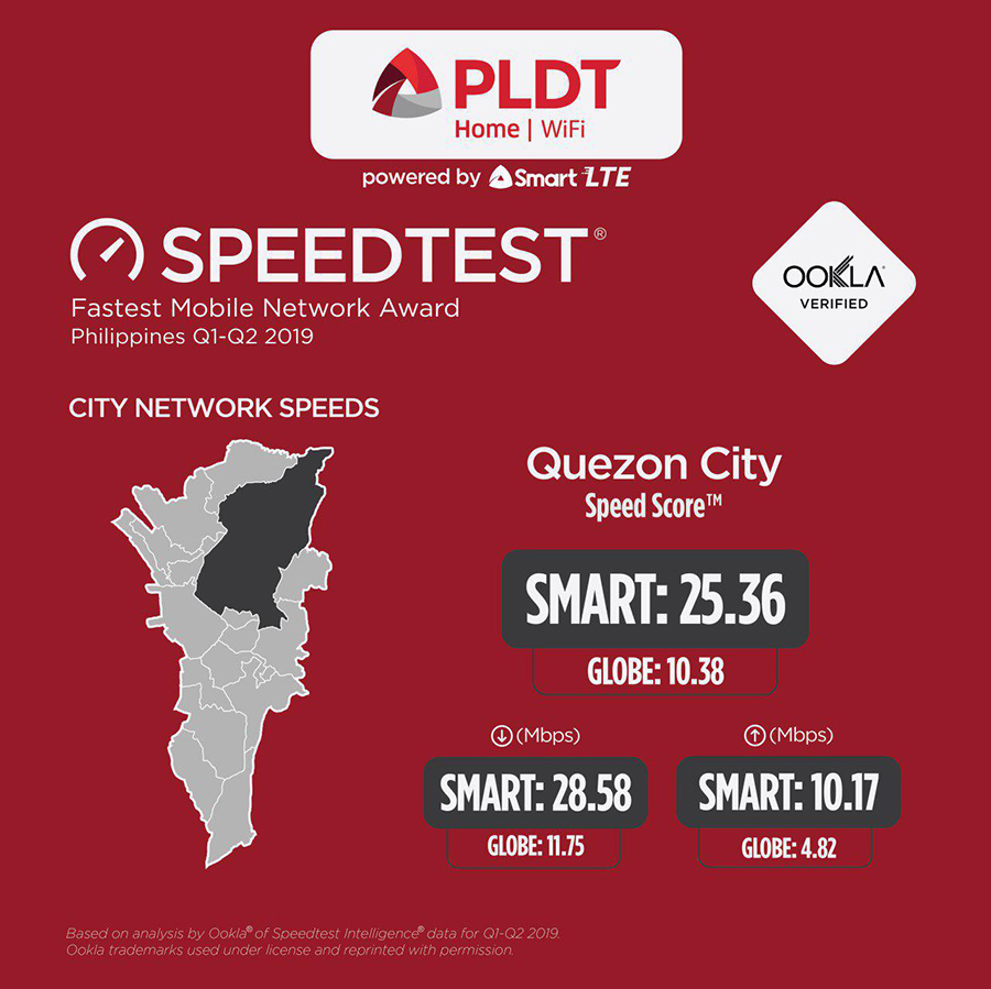 PLDT Home WiFi powered by Smart LTE