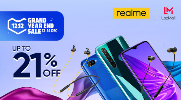 Realme Philippines to launch realme Buds 2 and realme Buds Wireless at Lazada 12.12, with smartphone markdown up to 21%