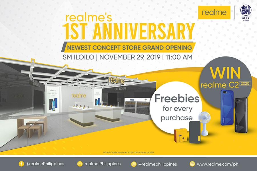 Realme to Open PH Flagship Store in Iloilo