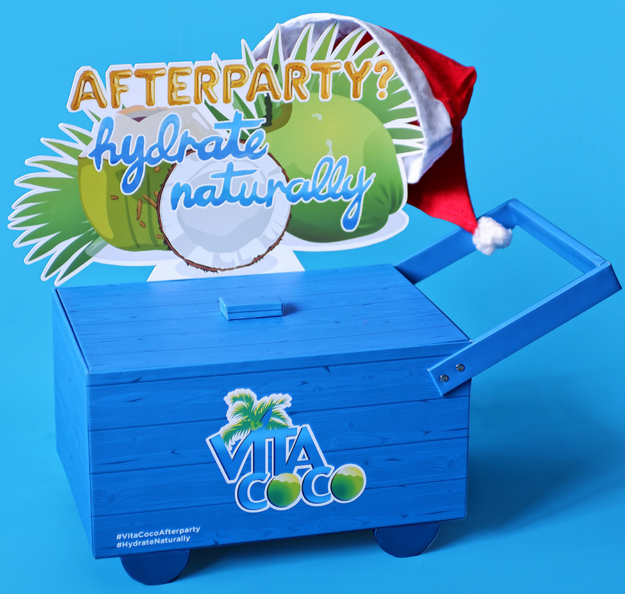 Hydrate Naturally this Holiday Season with Vita Coco