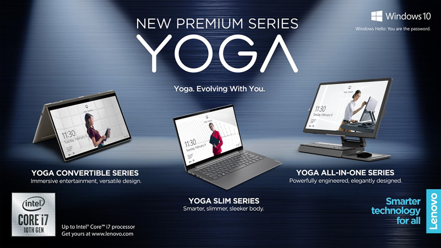 Lenovo launches new IdeaPad and YOGA ultrabooks in the Philippines