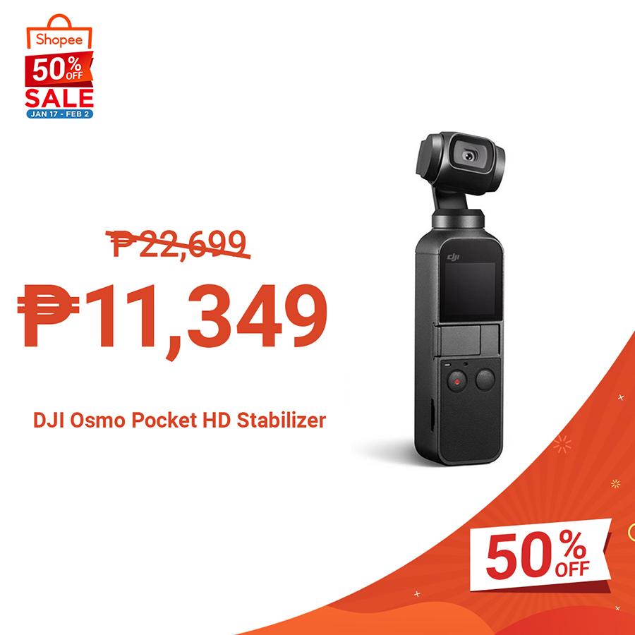 DJI Osmo Pocket HD Stabilizer
