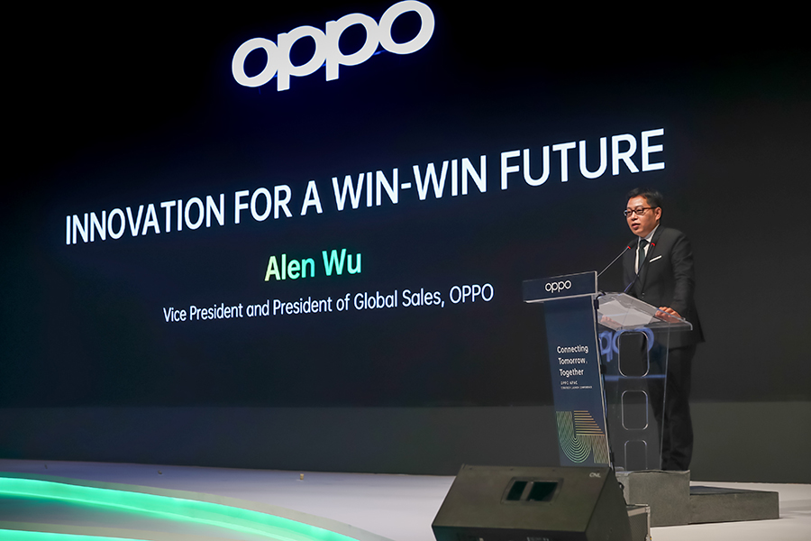 Alen Wu, Vice President and President of Global Sales, OPPO