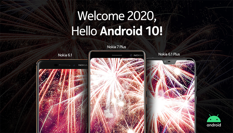 More Nokia Phones Now on Android 10
