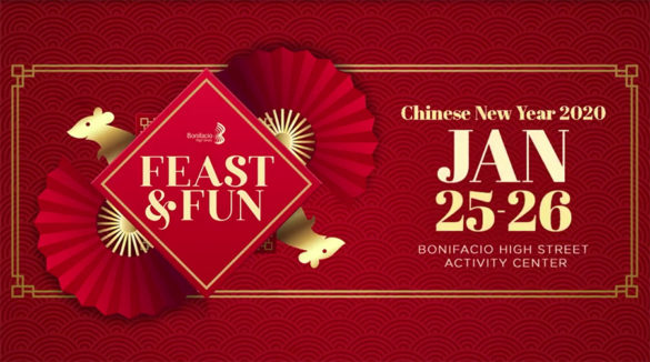Ring in the Chinese New Year at Bonifacio High Street!