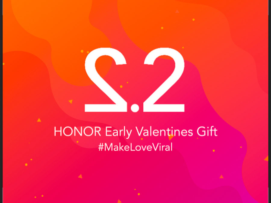 HONOR Unravels Early Valentines Gift for You