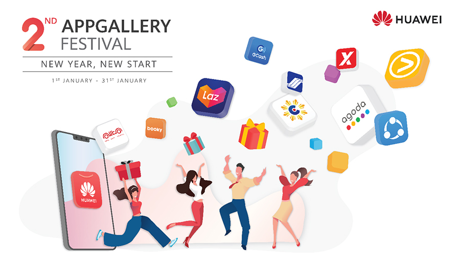 'Appy New Year' With HUAWEI AppGallery Festival