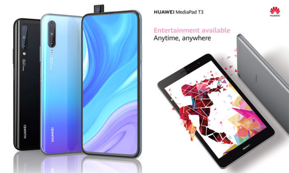 """Huawei Y9s and T3 8"""" Now in the Philippines, Kicks Off Pre-Orders via Lazada and Shopee"""