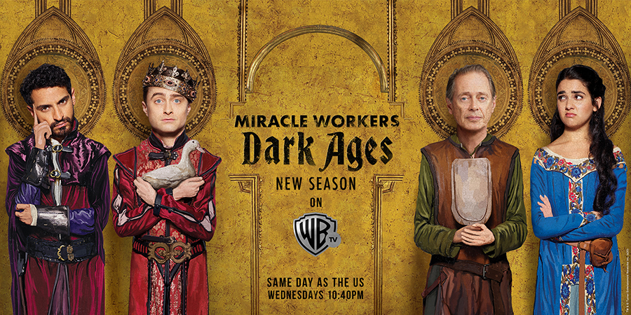 Get Ready to Laugh Out Loud with Miracle Workers Season 2