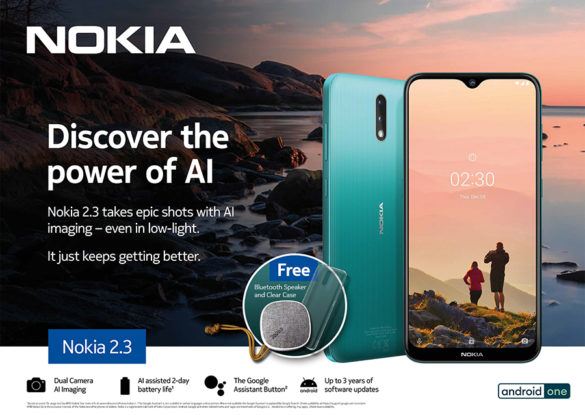 Next Generation Nokia 2.3 Brings Powerful AI to Everyone