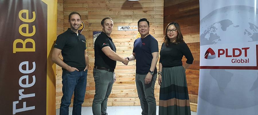 PLDT Global Partners with Online Platform AutoDeal