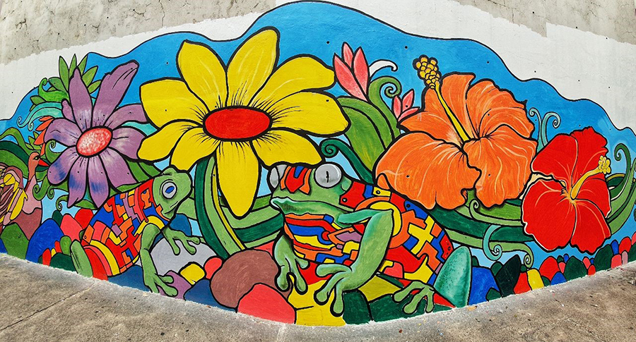 PLDT Smart Gabay Kalikasan mural