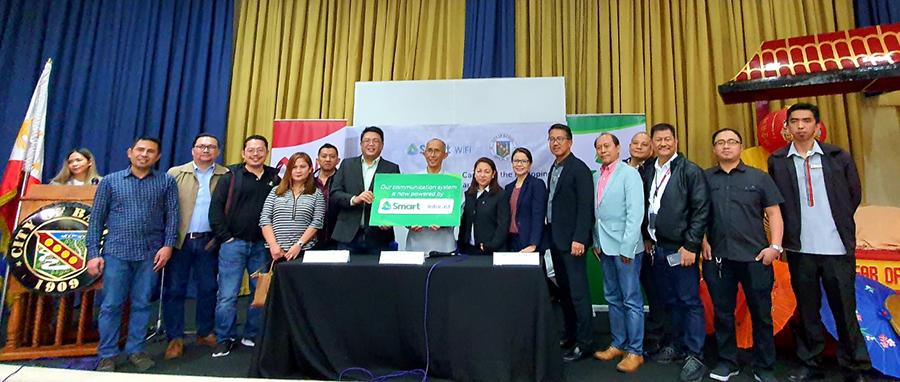 PLDT Boosts Baguio Rehab, Tourism With  Smart Wifi Expansion