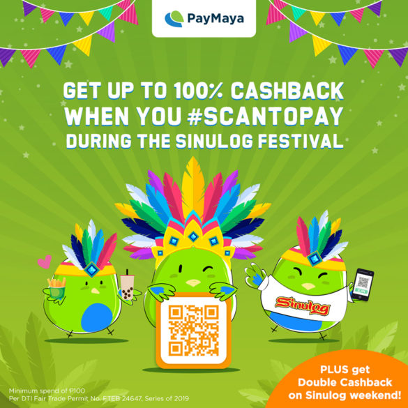 PayMaya powers a more exciting, hassle-free and rewarding experience at Sinulog Festival!