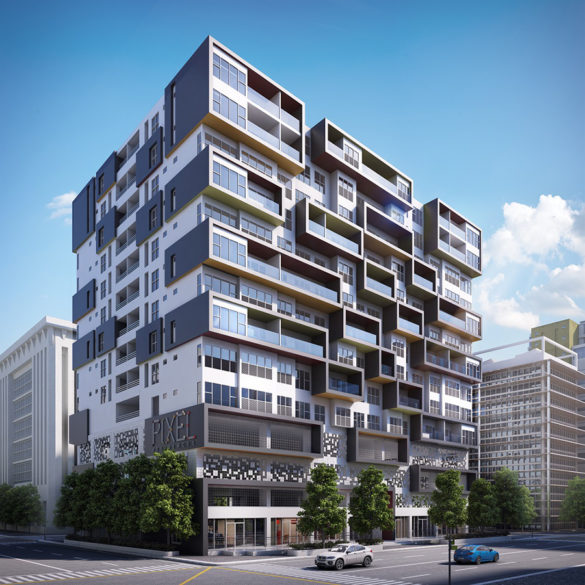 Aseana Residential Holdings Corp. Completes its First Project - Pixel Residences