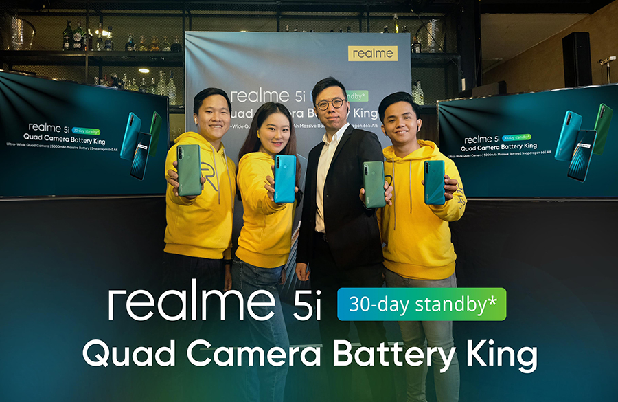 realme 5i Set to Be Best Smartphone in PhP6k Segment, Raises Standards for Value Phones in PH