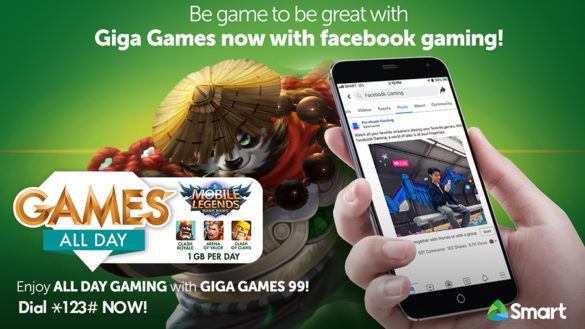 Smart Boosts Giga Games With Facebook Gaming