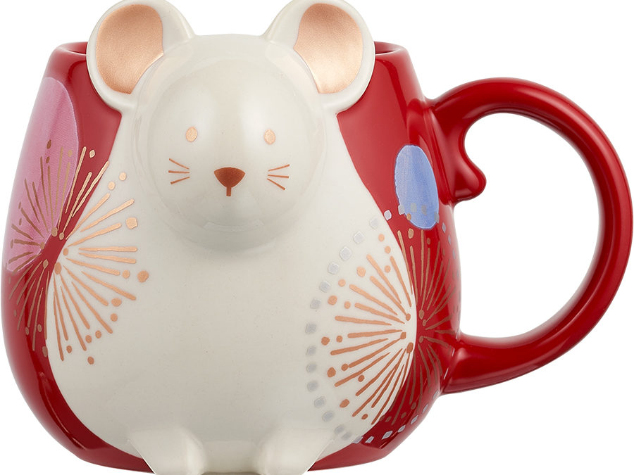 Welcome the New Year with Starbucks' Limited Edition Year of the Rat Merchandise