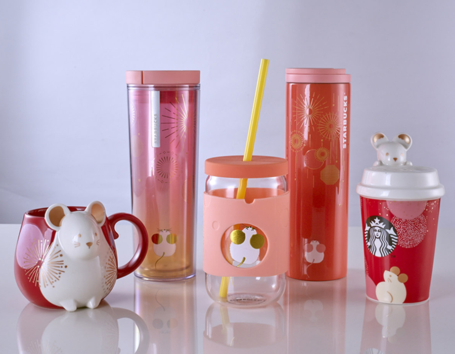 Starbucks Year of the Rat Collection