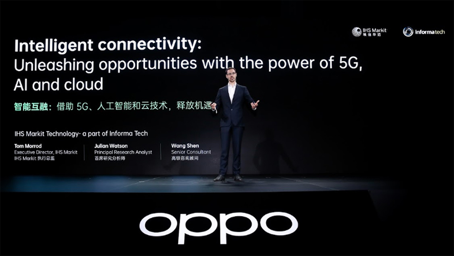 OPPO and IHS Markit Unveil Intelligent Connectivity Whitepaper at OPPO INNO DAY 2019