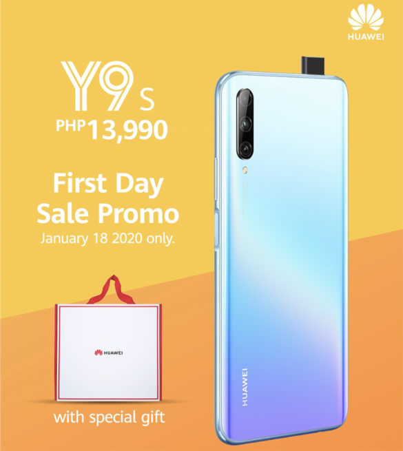 PROMO ALERT! Huawei Y9s Launches in Philippines, Offers Freebies on First Day Sale and Other Payment Options!