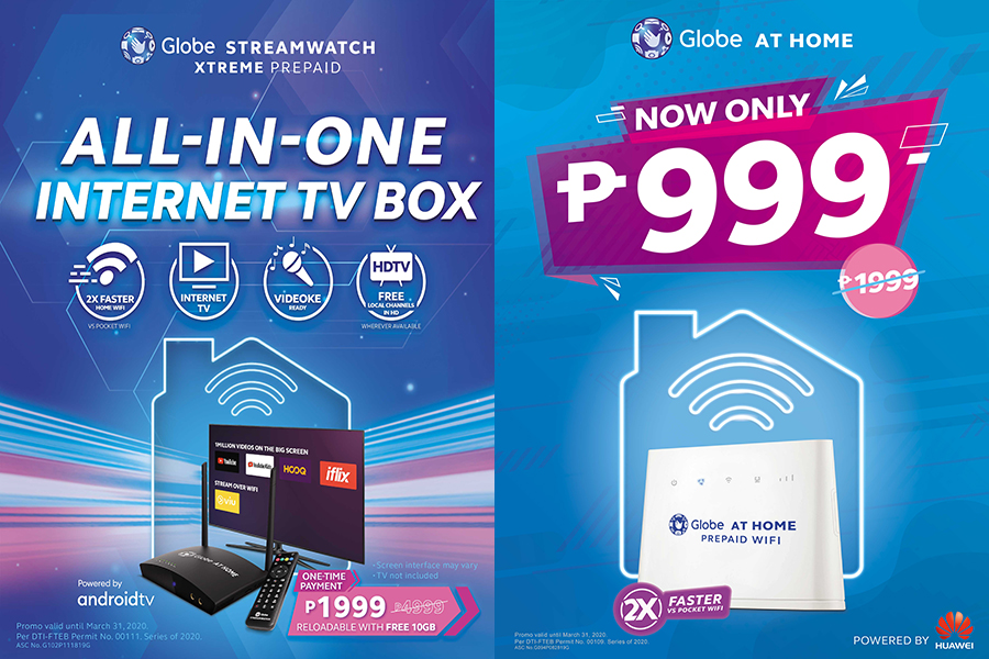 Your Favorite Globe at Home Prepaid Devices Are Now More Affordable Than Ever!
