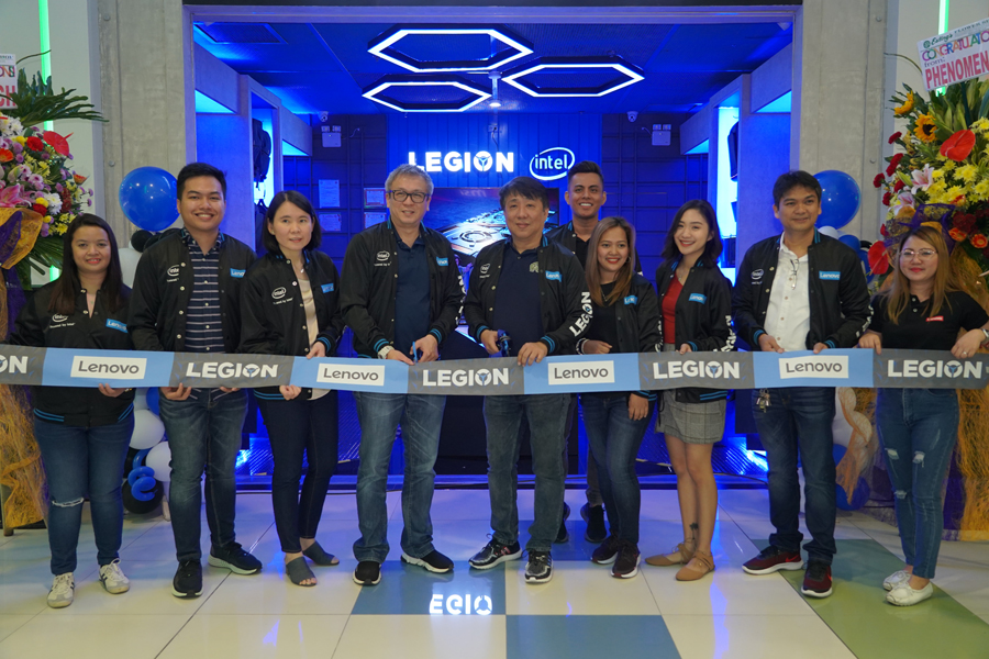 FIRST LENOVO LEGION STORE FOR NORTHERN GAMERS, NOW OPEN AT SM CITY CLARK.