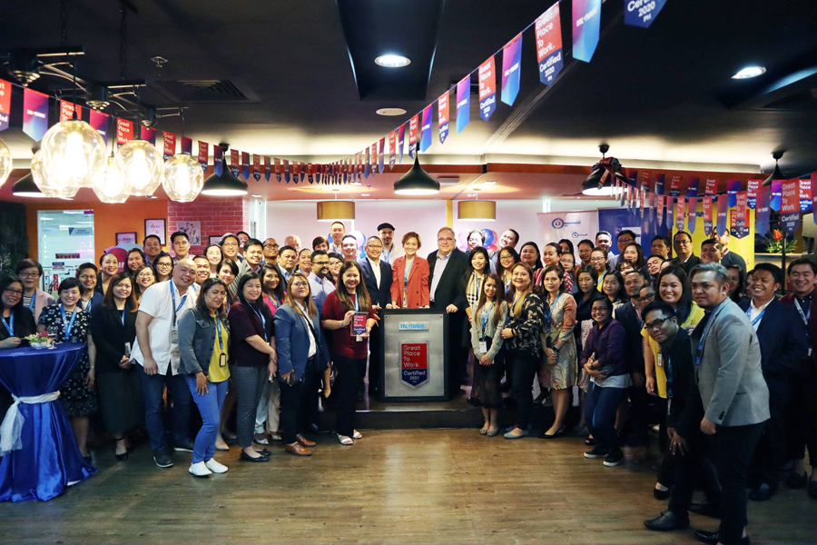 Ingram Micro Philippines joins an elite group of companies around the globe to be recognized for high-performance workplace culture by the Great Place to Work®️ Institute.