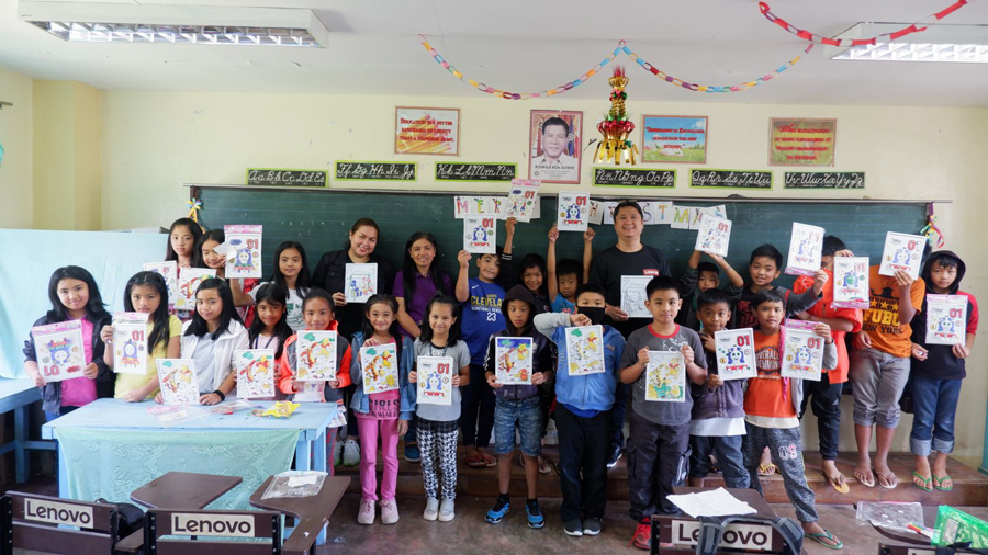 Lenovo uplifts students of remote school in Benguet anew