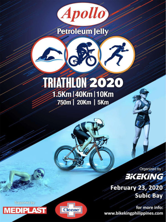 Test Your Limits at the Apollo Petroleum Jelly TRI 2020