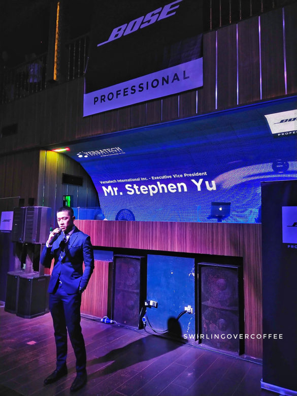 Stephen Yu, Versatech International Vice President