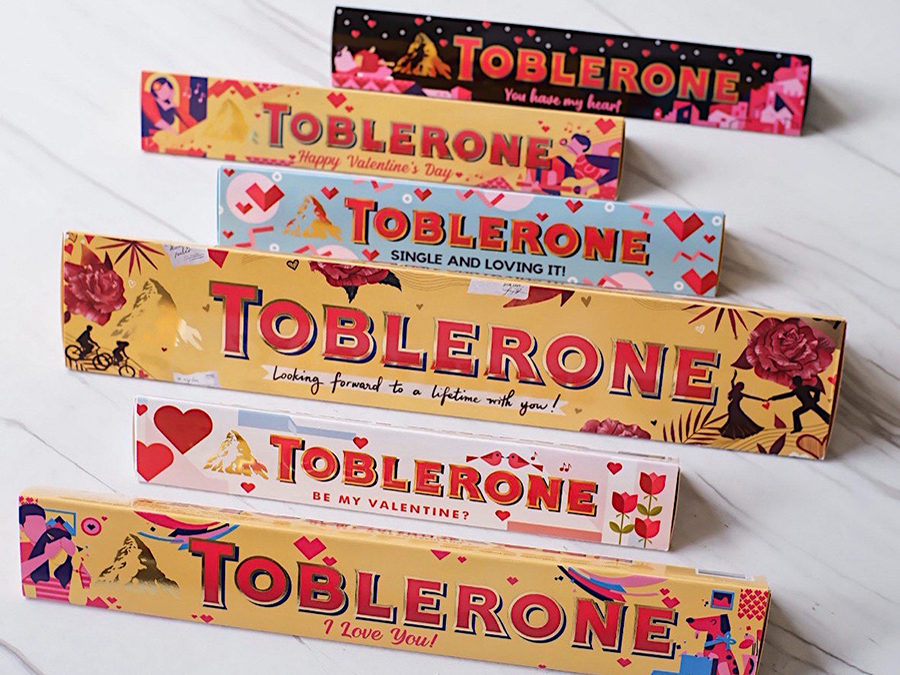 #Bemoreimaginative and Express Your Love With Toblerone This Valentine's Day