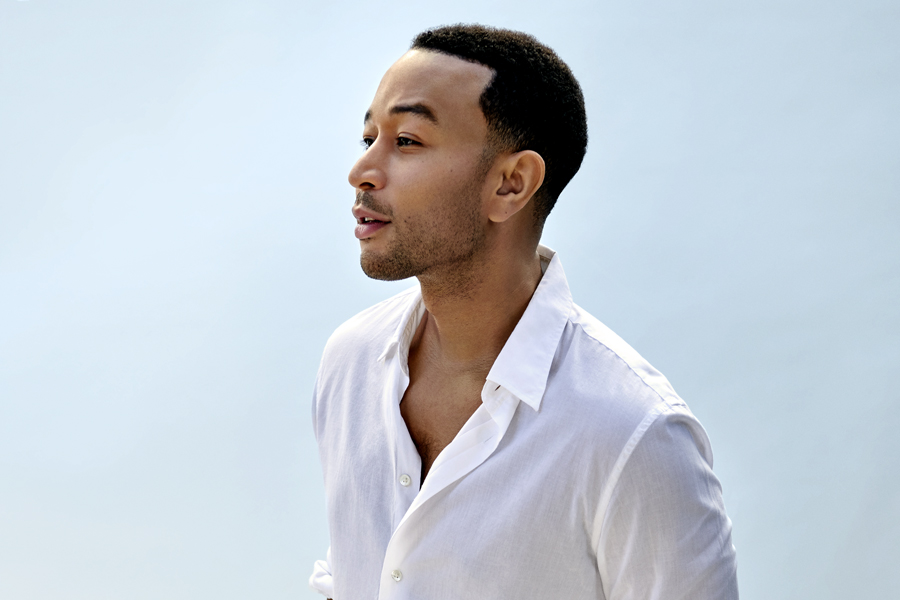 John Legend is revealed as the Legend of Love this Valentine's Day