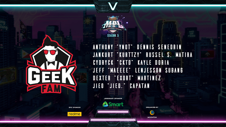 Mobile Legends: Bang Bang Professional League - Philippines Season Five Is Here!