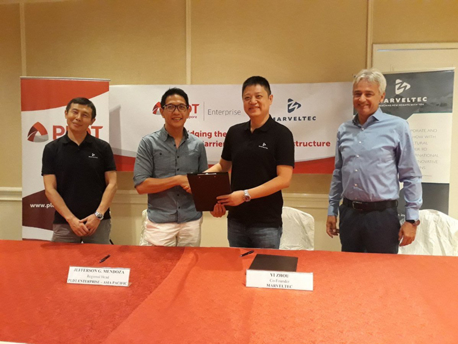 PLDT Enterprise, Marveltec to Elevate Carrier Services Across Asia Pacific