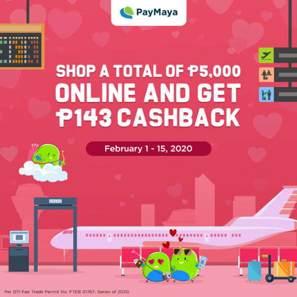 Top 6 Ways to Celebrate Valentine's Day With Paymaya Para May Balikbayad Ka!