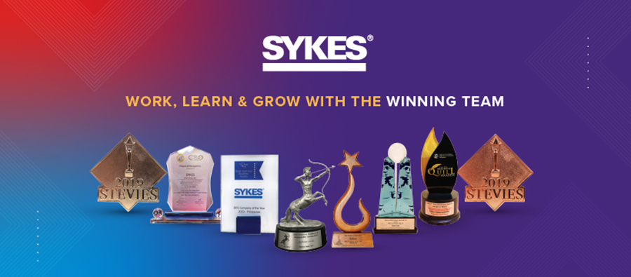 SYKES Caps off 2019 as Top BPO Employer in PH