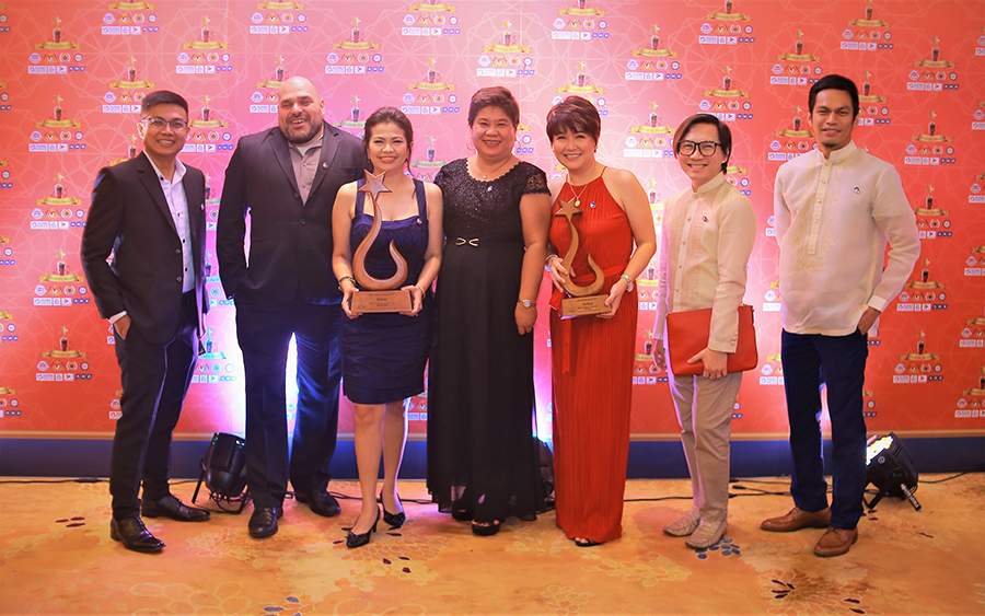SYKES Team at the 2019 Asia Leaders Awards receives the BPO Company of the Year for the 2nd consecutive year.