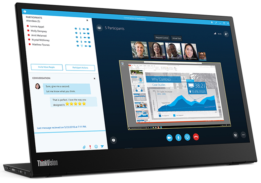 Lenovo delivers exceptional display with new ThinkVision monitors