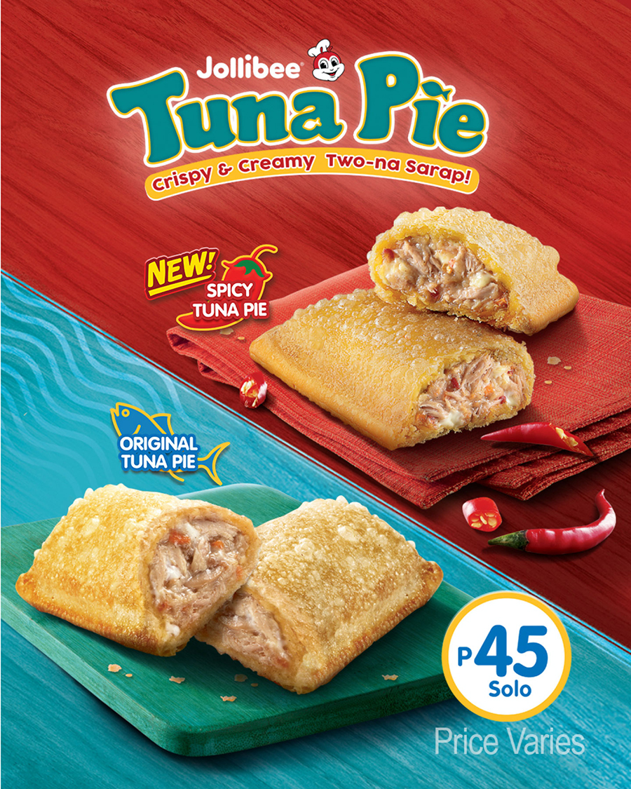 Jollibee Brings Back Your Favorite Tuna Pie, and Now It Comes With a Spice!