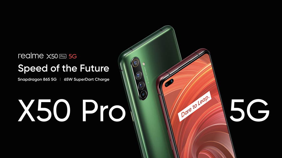 realme x50 Pro 5g Officially Launched Globally, One of Those Firstly Powered by Snapdragon 865