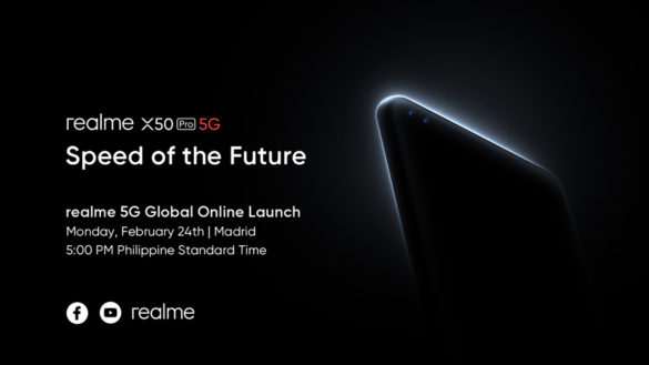 realme to Launch First 5G Flagship x50 Pro Through Global Livestream Event