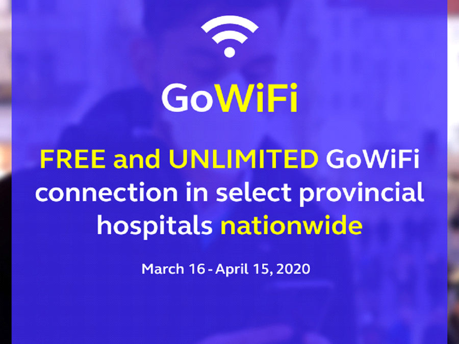 Globe Extends Free Unli WiFi Services to More Hospitals Nationwide