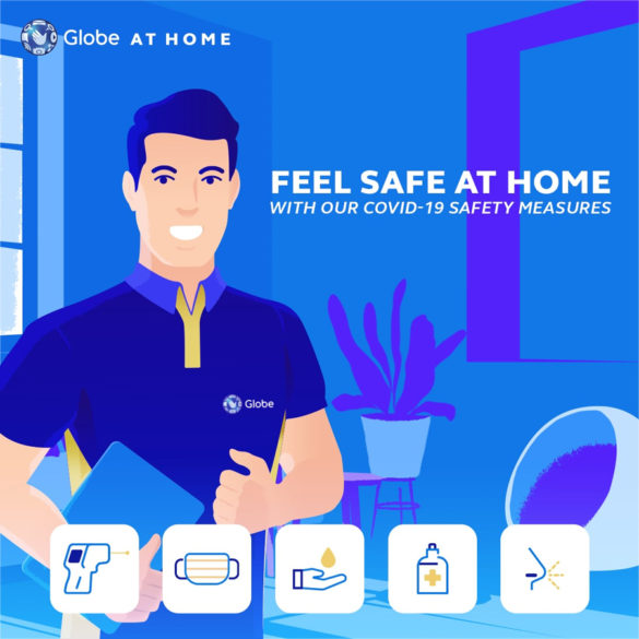 Globe at Home Activates Stringent Health and Safety Measures for Installers and Frontline Workers Amid COVID-19 Spread