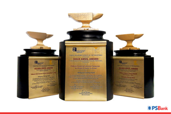 PSBank Bags a Gold and Two Silvers at the 55th Anvil Awards