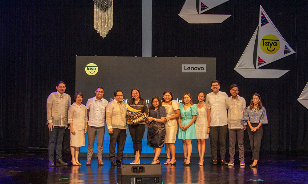Junior Bedan Law Circle awarded grant by Lenovo PH at the 17th TAYO Awards for efforts in helping jail detainees